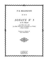 Paolo Benedetto Bellinzani: Sonata Op.3, No.5 in F major