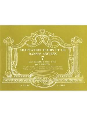 F. Ligistin: Adaptation dAirs et de Danses anciens Vol.7