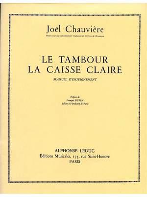 Joel Chauviere: Joel Chauviere: Le Tambour, la Caisse claire