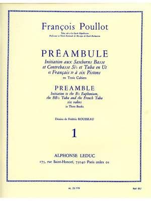 François Poullot: François Poullot: Preamble Vol.1
