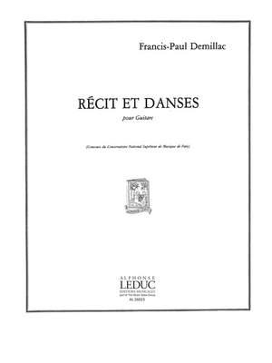 Demillac: Recit Et Danses
