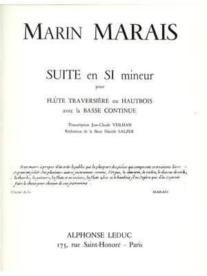 Marin Marais: Marin Marais: Suite in B minor