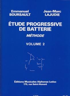 Emmanuel Boursault: Etude Progressive de Batterie 2
