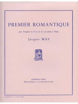 Jacques Mas: Premier romantique (for B flat Trumpet)