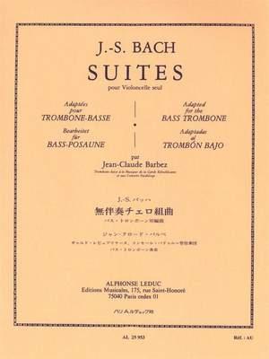 Bach: Suites pour Violoncelle seul