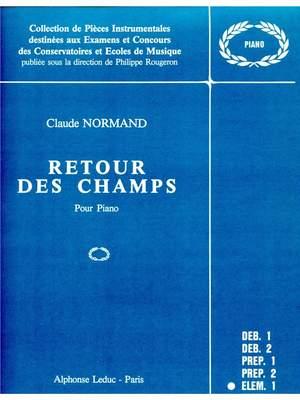 Claude Normand: Retour Des Champs