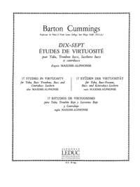 Barton Cummings: Barton Cummings: 17 Etudes de Virtuosite