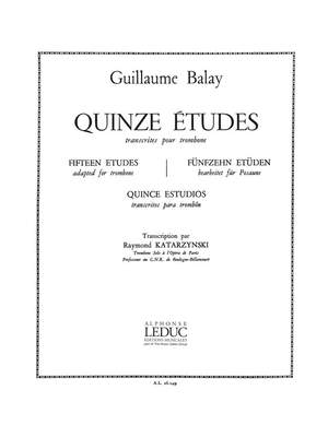 Guillaume Balay: 15 Etudes