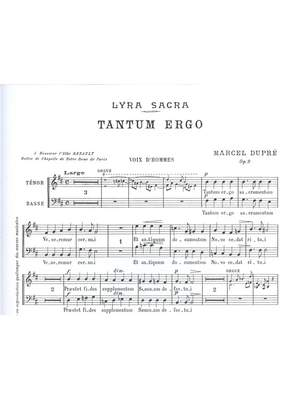 Marcel Dupré: 4 Motets Op.9, No.3: Tantum ergo