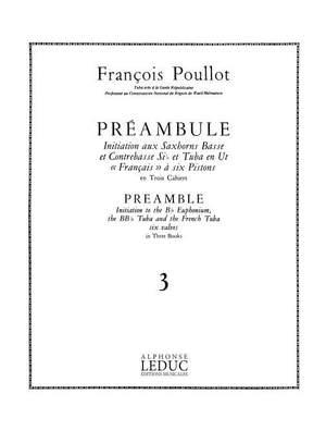 François Poullot: François Poullot: Preamble Vol.3