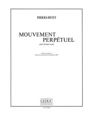 P. Petit: Mouvement Perpetuel