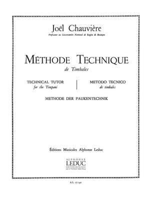 Joel Chauviere: Joel Chauviere: Methode technique de Timbales