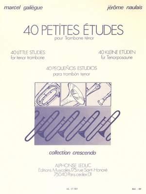 Galiegue: 40 Petites Etudes
