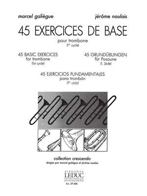 Jérôme Naulais: 45 exercices de base Cycle 1
