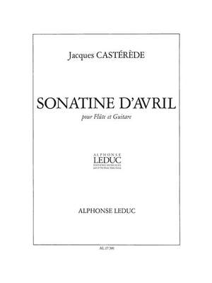 Jacques Castérède: Sonatine D'Avril