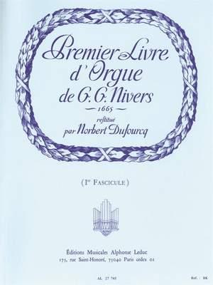 Guillaume Gabriel Nivers: Livre D'Orgue No. 1 Vol. 1 (Organ) Product Image