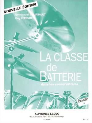 Emmanuel Boursault: La Classe de Batterie dans les Conservatoires 3
