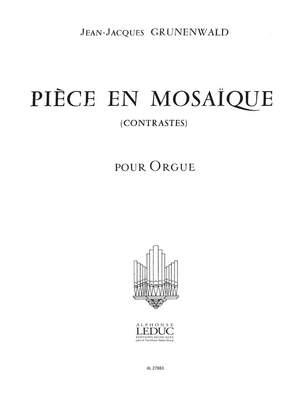 Jean-Jacques Grunenwald: Piece En Mosaique