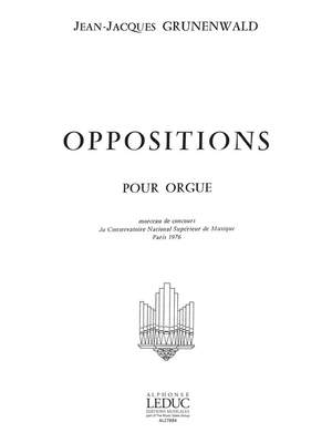 Jean-Jacques Grunenwald: Oppositions