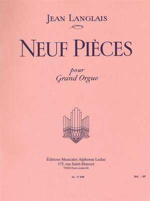 Jean Langlais: 9 Pieces