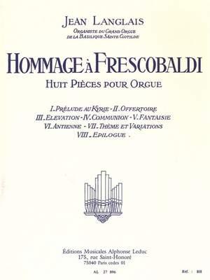 Jean Langlais: Hommage à Frescobaldi