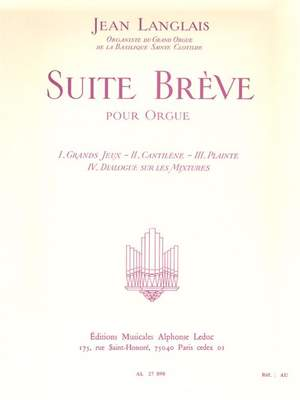 Jean Langlais: Suite Breve Product Image