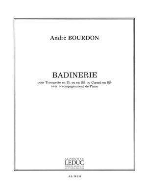 A. Bourdon: Badinerie