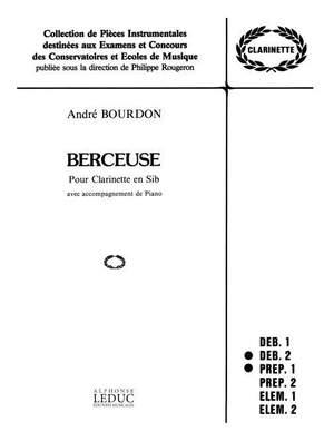 A. Bourdon: Berceuse