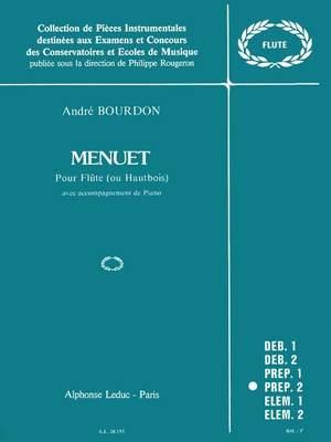 A. Bourdon: Menuet
