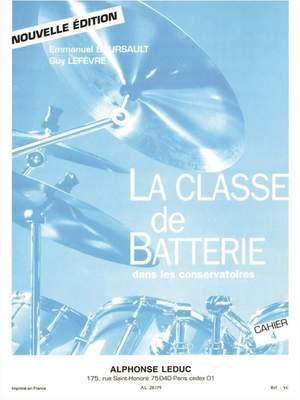 Emmanuel Boursault: La Classe de Batterie dans les Conservatoires 4