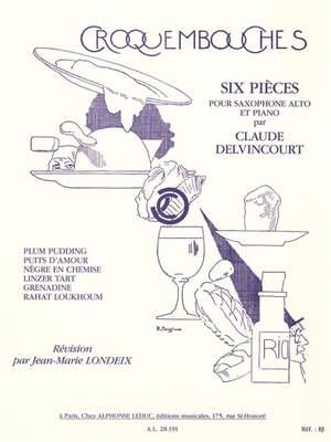 Claude Delvincourt: Croquembouches