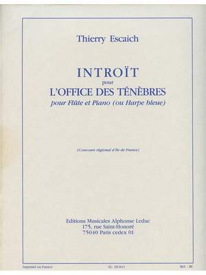 Thierry Escaich: Introït pour lOffice des Tenebres