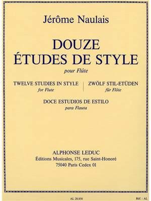 Jérôme Naulais: Douze Etudes De Style