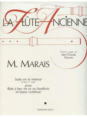 Marin Marais: Marin Marais: Suite Vol.4, No.1 in D minor