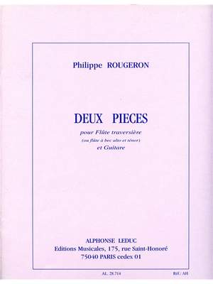 Philippe Rougeron: Philippe Rougeron: 2 Pieces
