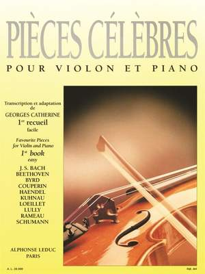 Georges Catherine: Famous Pieces for Violin and Piano