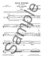 Christian Lauba: Neuf Etudes (9) pour Saxophones, cahier 4 Product Image