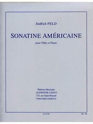 Jindrich Feld: Sonatine Americaine