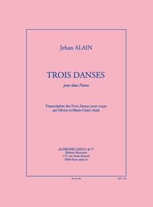 Alain J: Trois Danses (Transcription O. & M.-Claire Alain)
