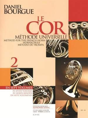 Bourgue: Le Cor, Méthode universelle Vol.2