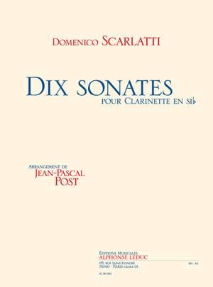 Domenico Scarlatti: 10 Sonatas For Clarinet