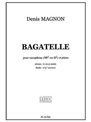 D. Magnon: D. Magnon: Bagatelle