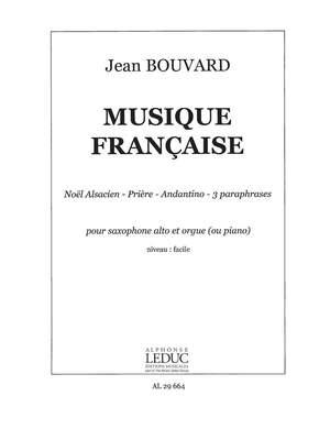 Bouvard: Musique Francaise Pour Saxo