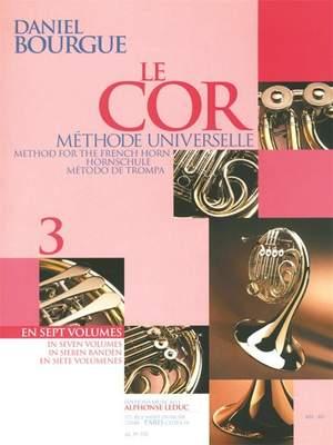 Daniel Bourgue: Le Cor Methode Universelle - Vol.3