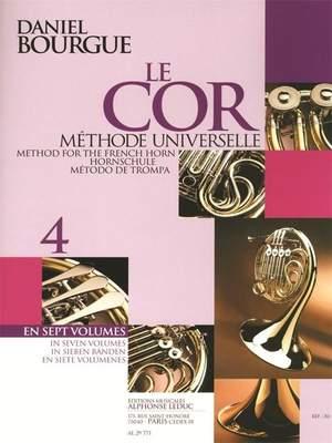 Daniel Bourgue: Le Cor Methode Universelle - Vol.4