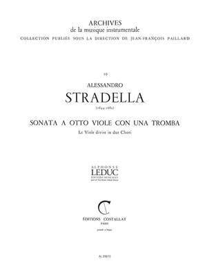 Alessandro Stradella: Sonata a 8 Viole e 1 Tromba