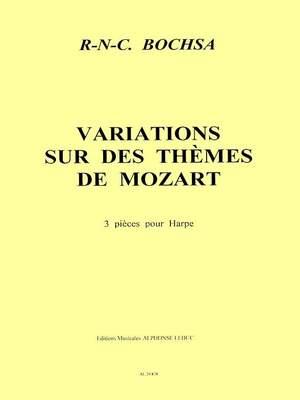 Robert Nicholas Charles Bochsa: 3 Variations sur des Themes de Mozart