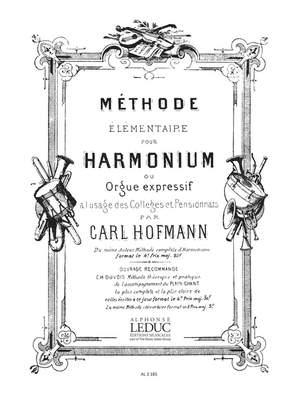 Georg Melchior Hoffmann: Methode elementaire D'Harmonium ou Orgue expressif Product Image