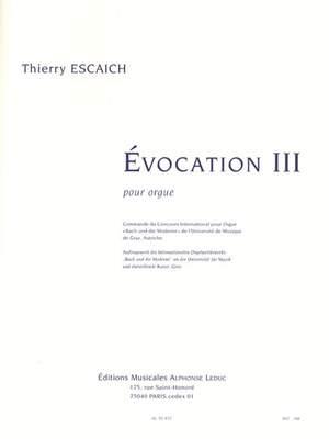 Thierry_Escaich: Evocation III (on 'Nun komm, der Heiden Heiland')