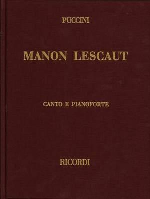 Puccini: Manon Lescaut Product Image